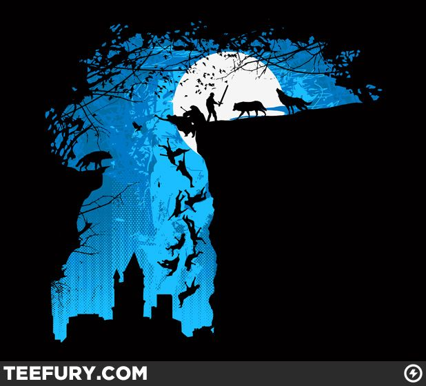 Rise of the Wolves by Pierrick Chevallier - Shirt sold at http://teefury.com on February 12th