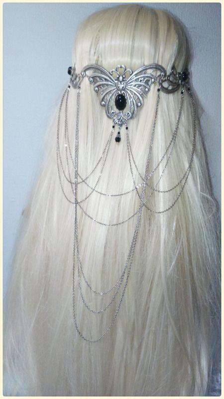 elvish butterfly headdress