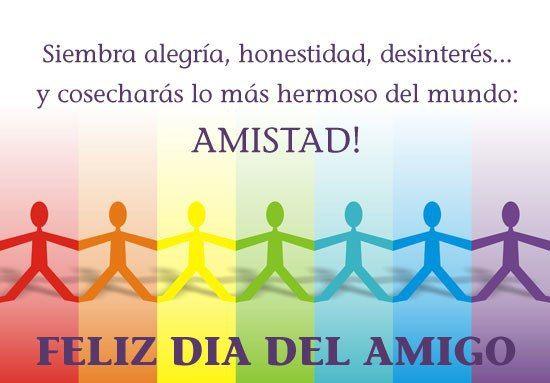 Día Internacional del Amigo.