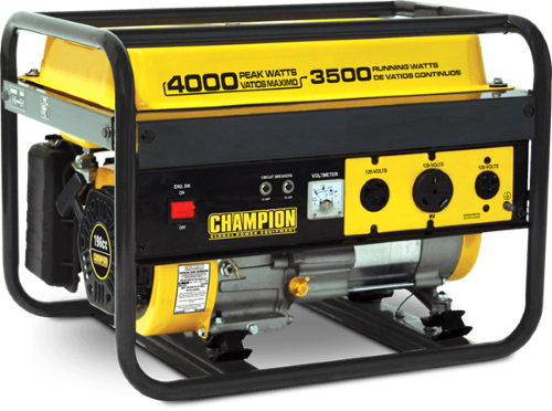 Champion Generator Wiring Diagram Rv Battery Bank Power Equipment 3500w Carb 46533 Yellow
