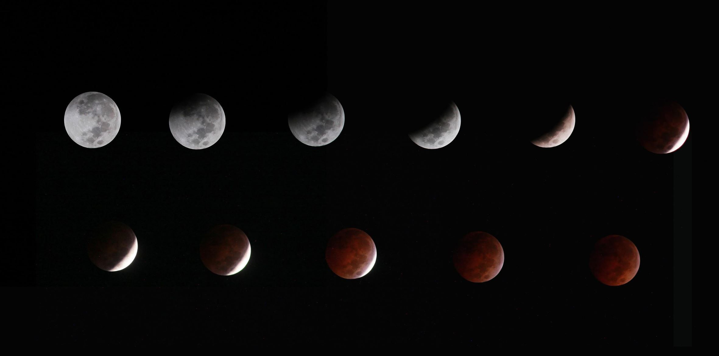 'Blood Moon' lunar eclipse by el Fotografo chingon de @manuelonvf