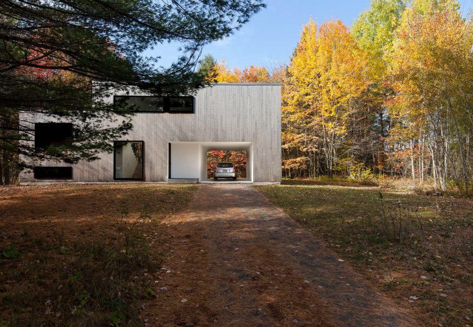 Maison terrebonne québec transformation complète shed architecture