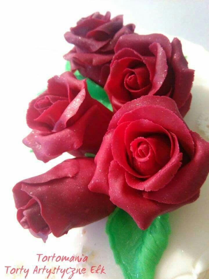 Roze Z Masy Cukrowej Smartflex Rose Plants