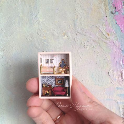 Microtomic in a matchbox (optional) – заказать на Ярмарке Мастеров – 8OZS3COM | Мини фигурки и статуэтки, Cheboksary