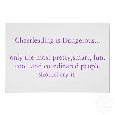 Cheerleading Sayings 1 10 From Votes Funny wallpaper ...