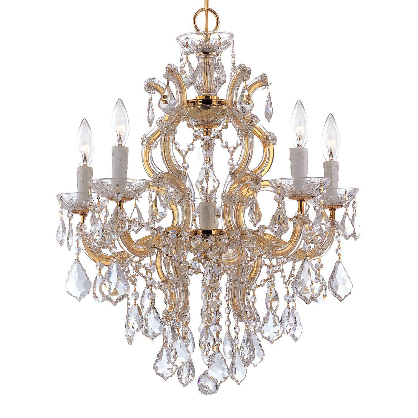 Crystorama Lighting 4435 Maria Theresa Chandelier Lighting