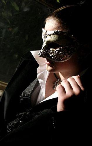 Misterioso hombre enmascarado