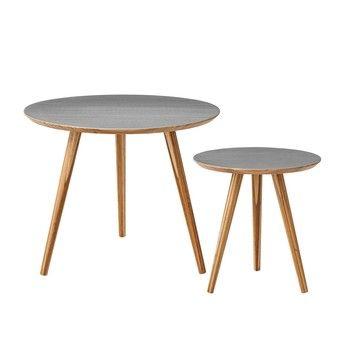 Bloomingville - Bloomingville Bambus Beistelltisch-Set 2-tlg - tisch für wohnzimmer