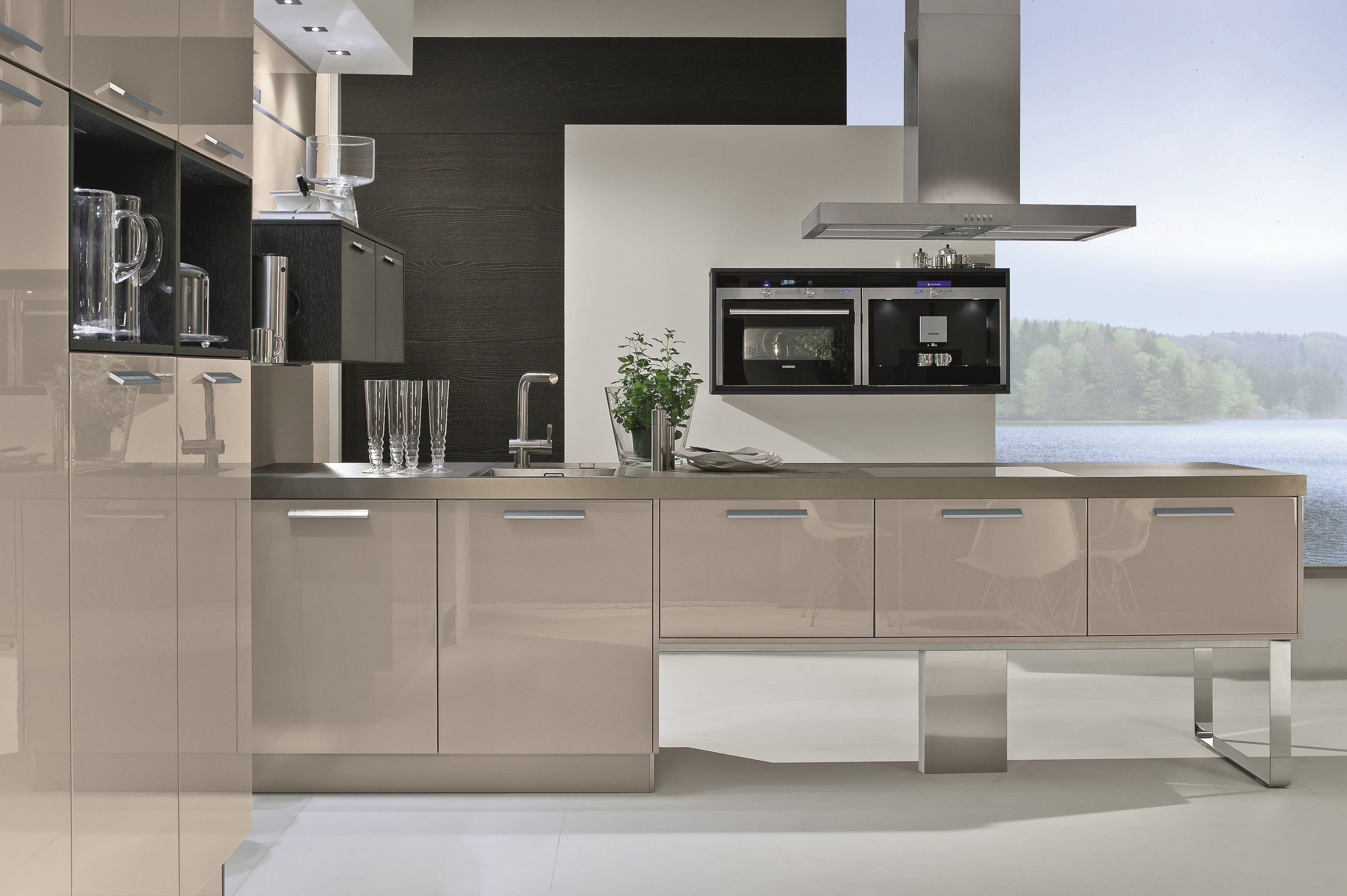 cabinets for small kitchens 4030 5080 high gloss lacquer terra oak 5080