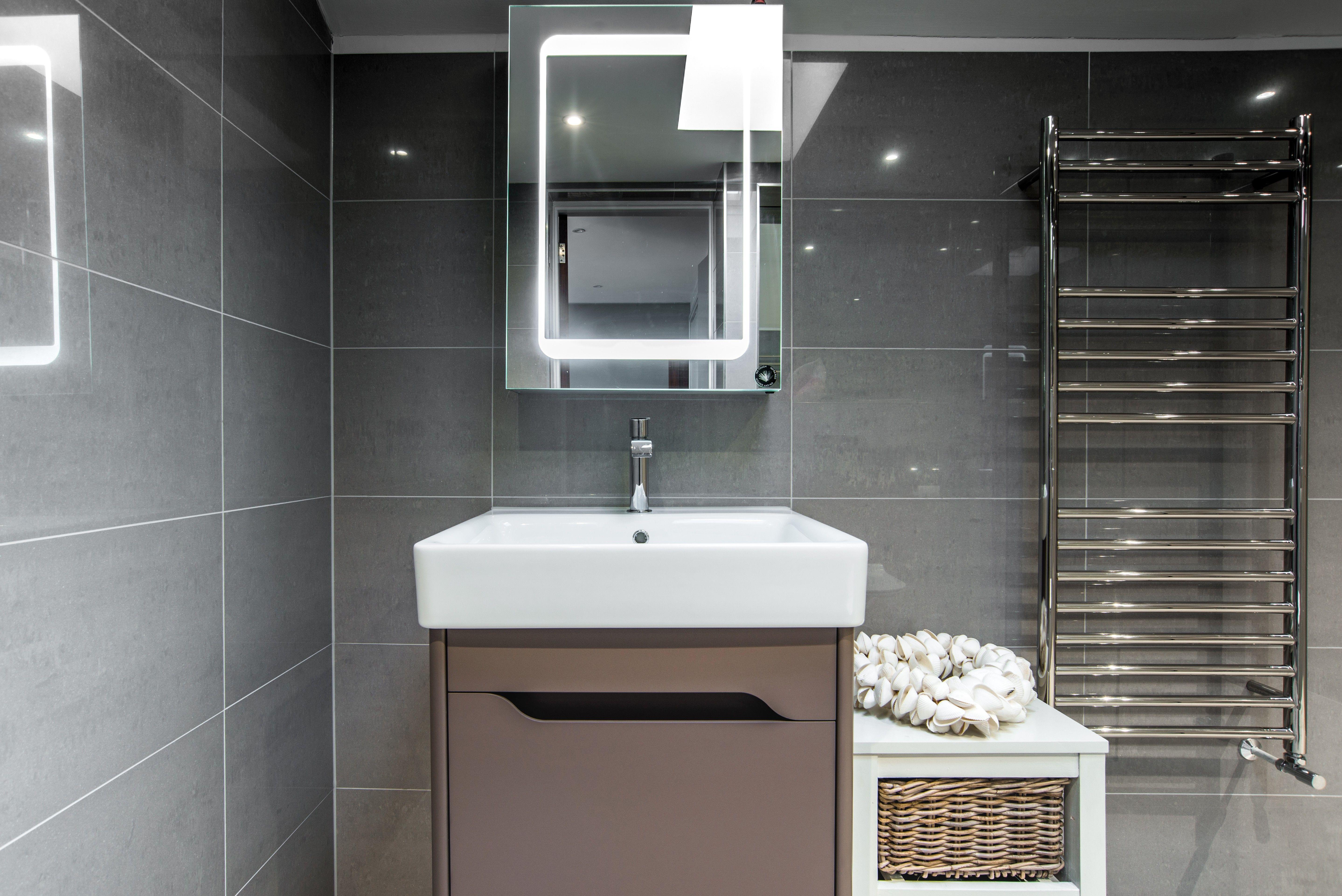 Bathroom Tiles Kent en-suite bathroom refurb in goudhurst, kent featuring gsi vanity