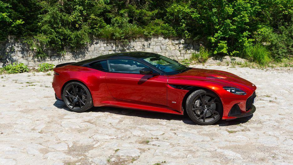 2019 Aston Martin Dbs Superleggera Looks Sizzling In Red Page 6 Aston Martin Dbs Aston Martin Cars Aston Martin