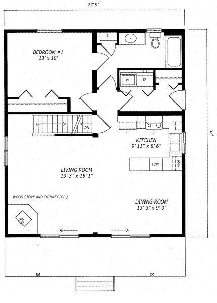 Guildcrest Banff House Plan Main Prefab Homes Images A Frame House Plans Cottage Floor Plans Cottage House Plans