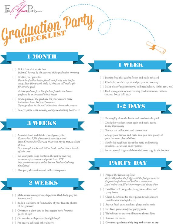 Graduationchecklist  Graduation Ideas    Grad Parties