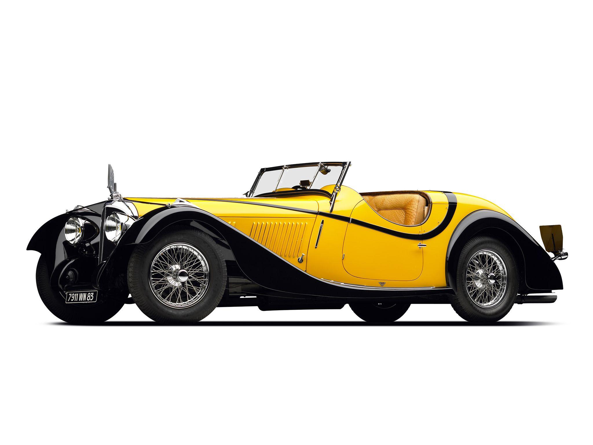 1934 Voisin C27 Figoni Cabriolet