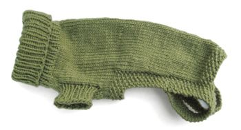 Morehouse merino original dog sweater pattern w sizing - Knitting for dogs sweaters ...