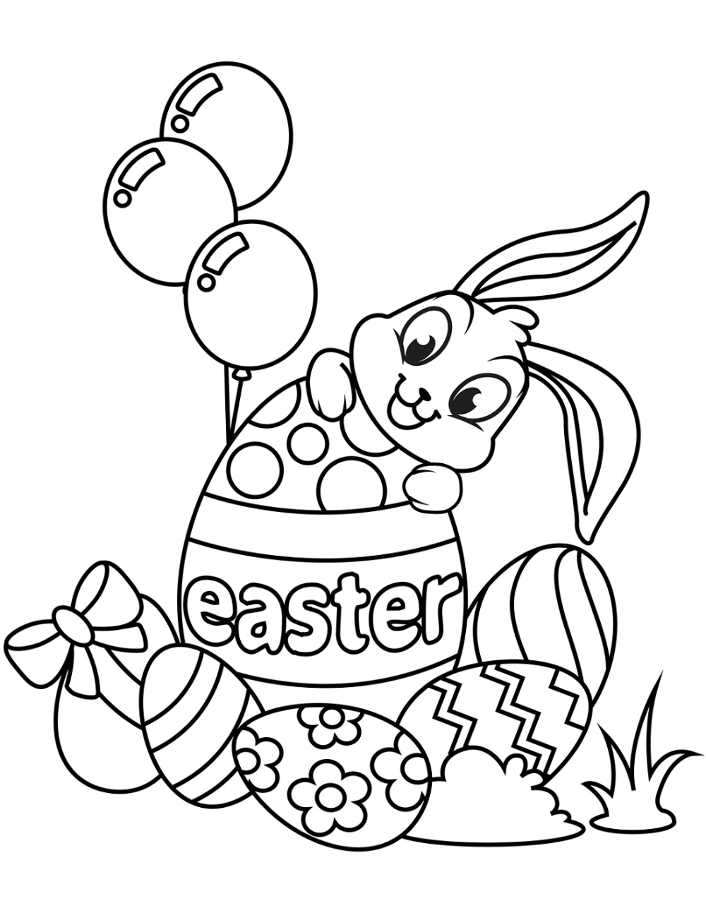 Free And Printable Spring Coloring Pictures 101 Activity Easter Coloring Book Bunny Coloring Pages Easter Bunny Colouring