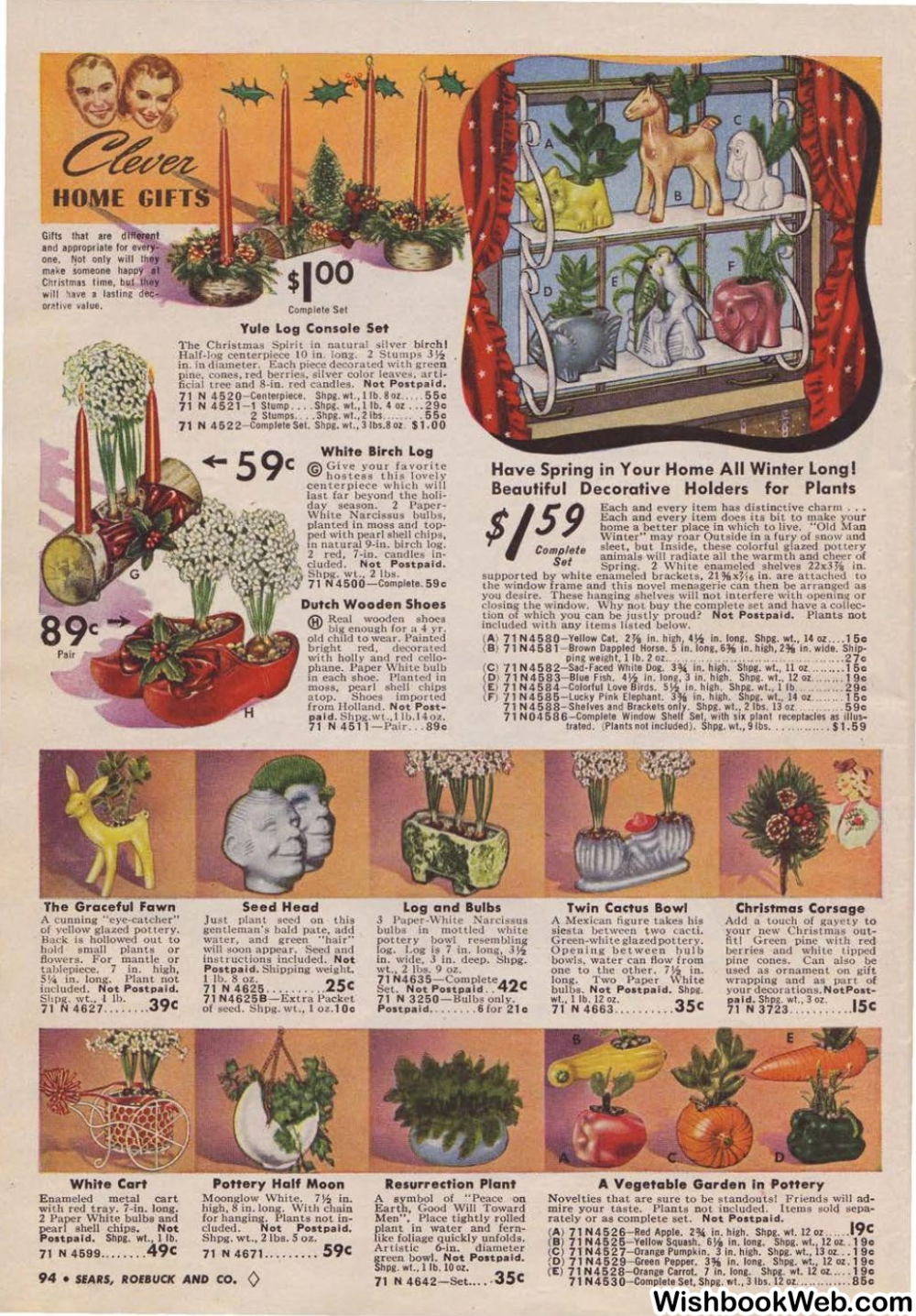 Christmas At Resurrection 2020, December 8 1940 Sears Christmas in 2020   Red candles, Plant centerpieces