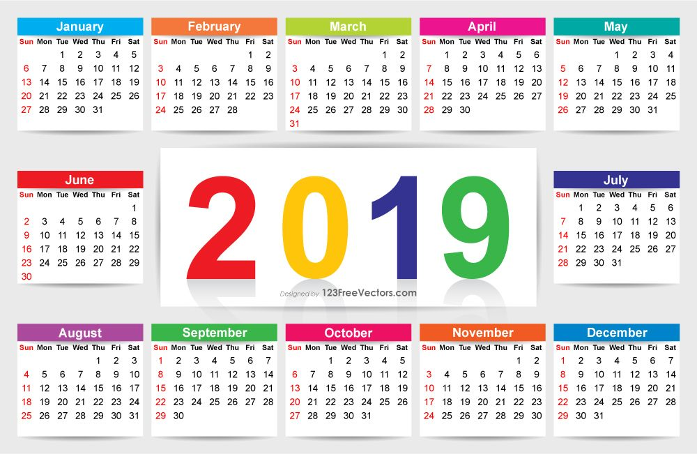 Download Calendar 2019 Calendar, 2020 calendar template