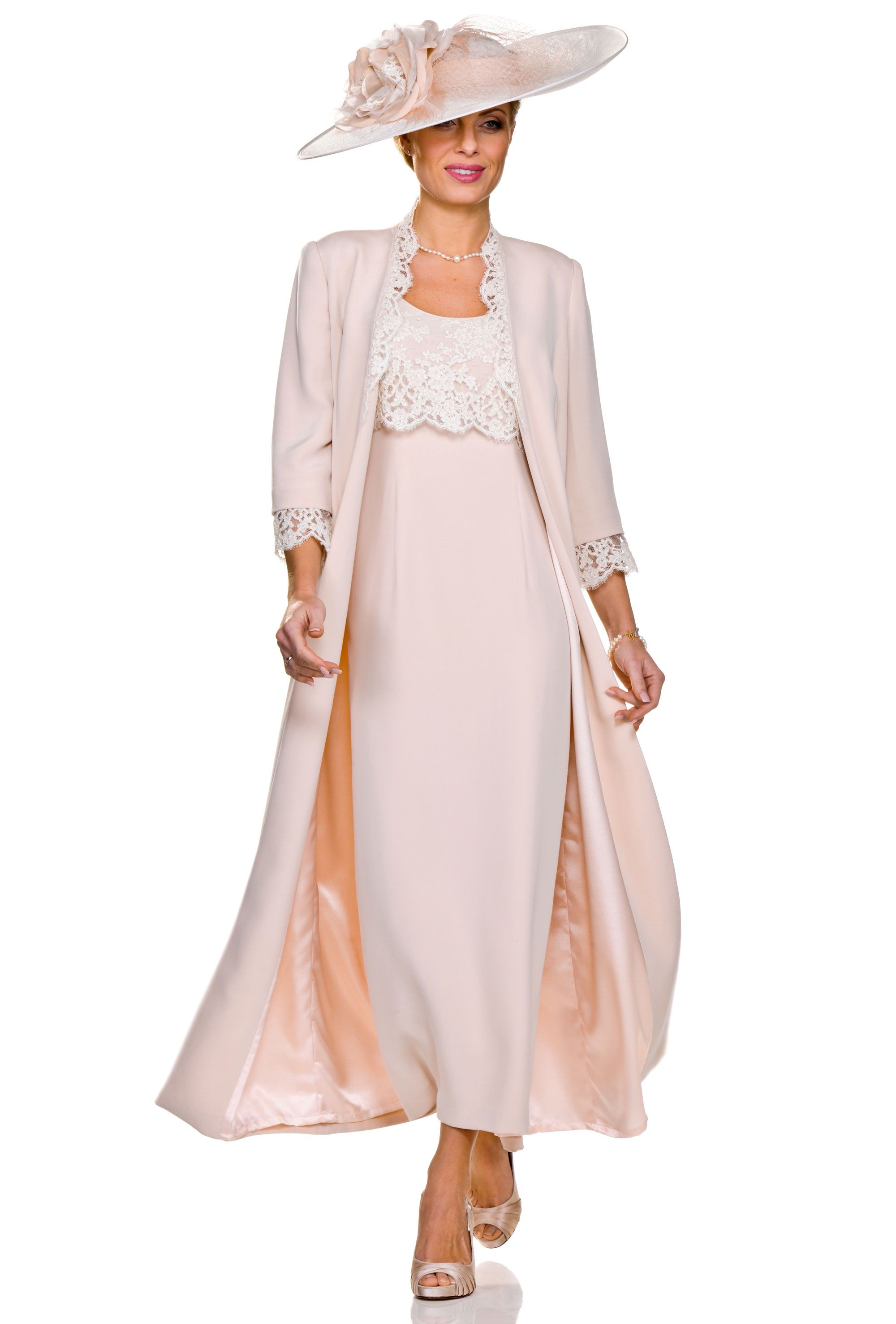Full length chiffon trousers with an elegant wide leg. The top is ...