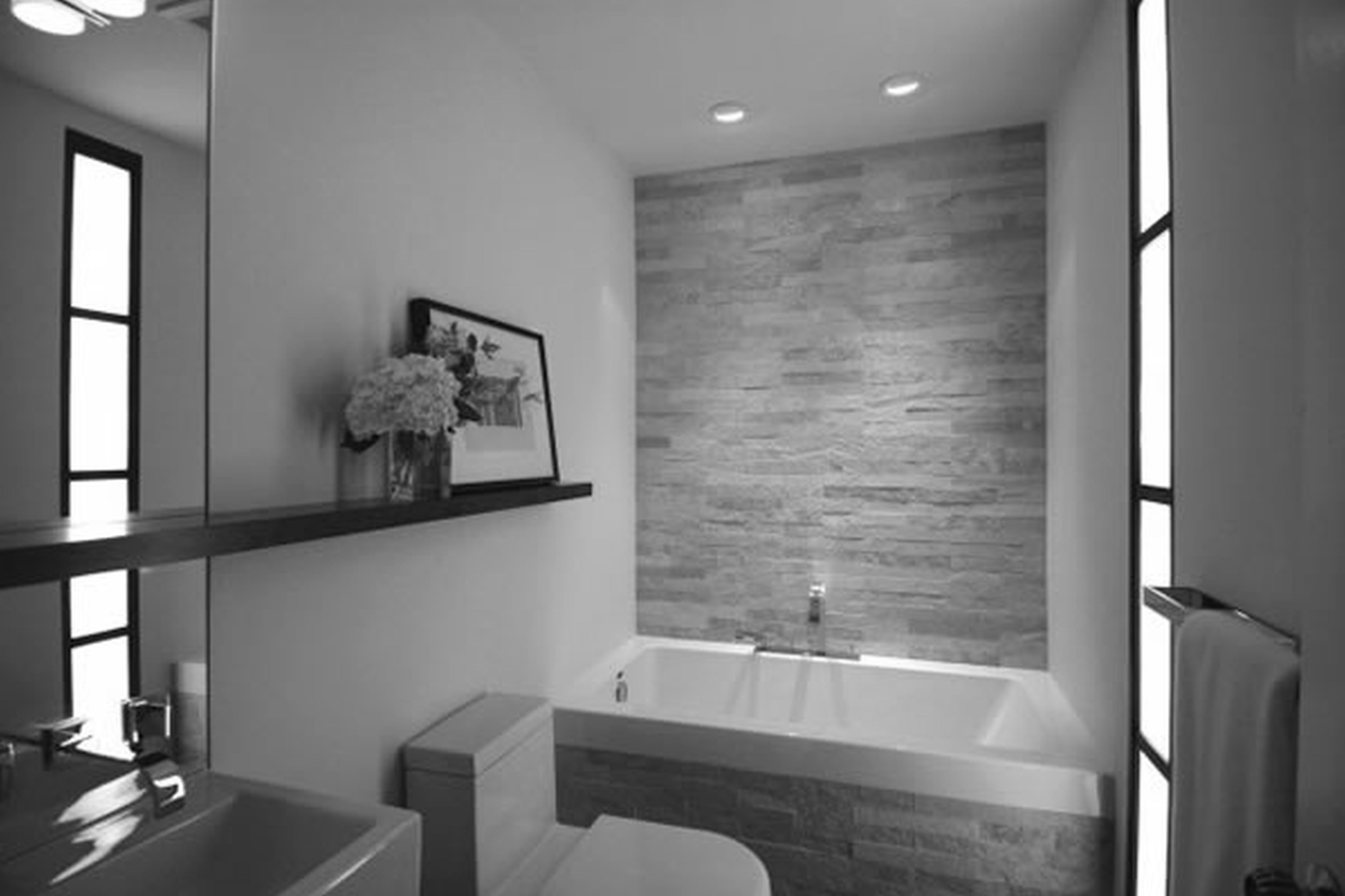 Bathroom : Bathroom Fascinating Small Modern Bathroom Design With Natural  Ideas Photo Awesome Small Modern Bathrooms Bathroom Tile Smallbath.