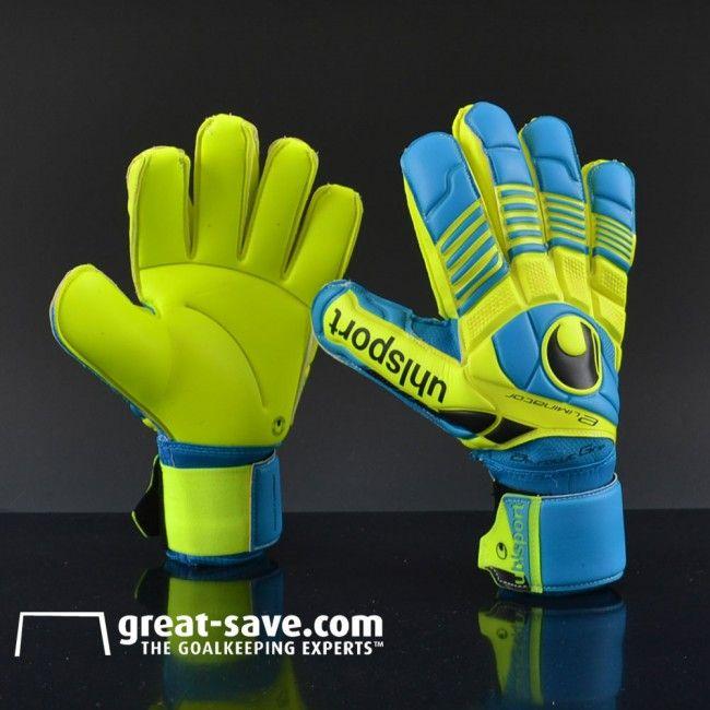 69f0aab8a Uhlsport Eliminator Absolutgrip Goalkeeper Gloves. Encuentra este Pin y  muchos más en Soccer ...