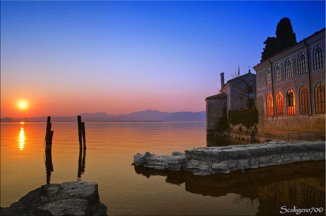 "San Vigilio ""Villa Guarienti"" Sunset, Travel, Villa"
