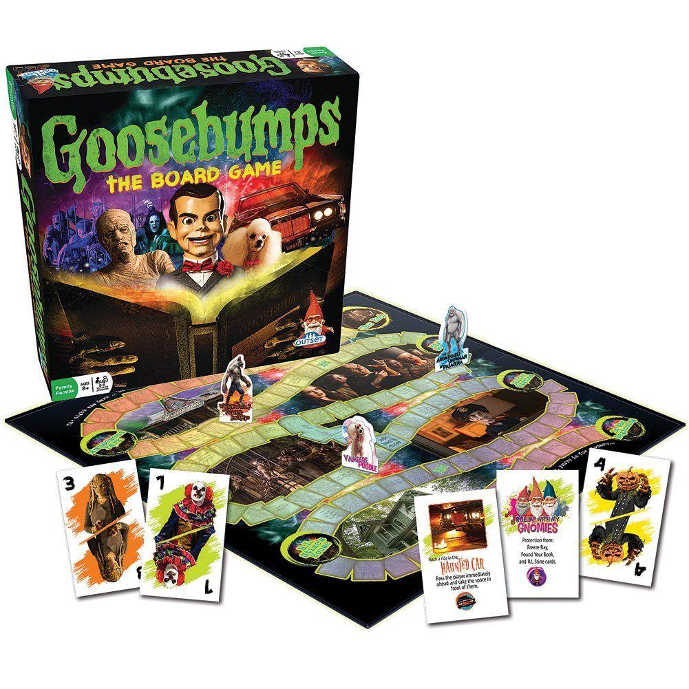 Goosebumps Movie Game Thrilling Family Board
