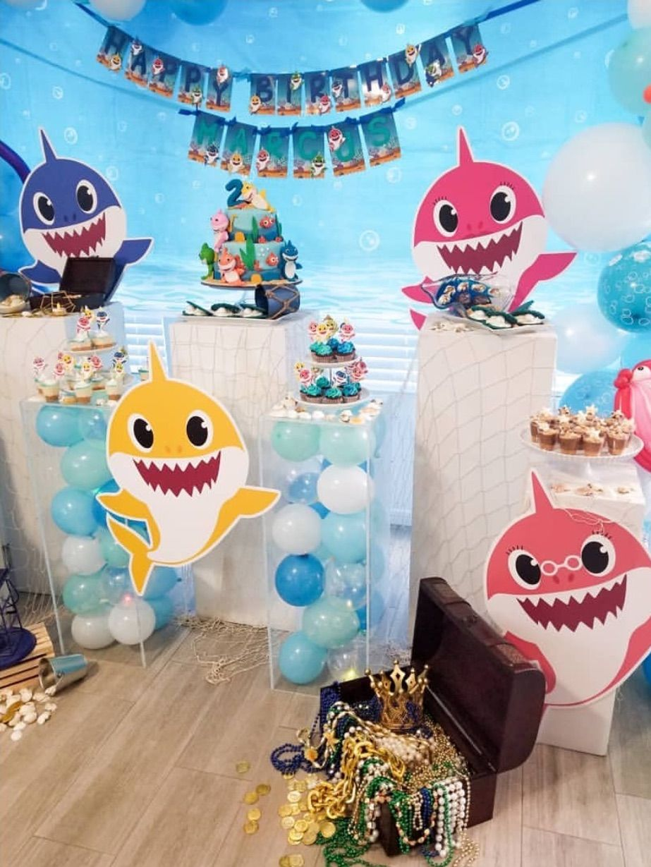 """13 """"Baby Shark"""" Birthday Party Ideas For Your Kiddo (With"""