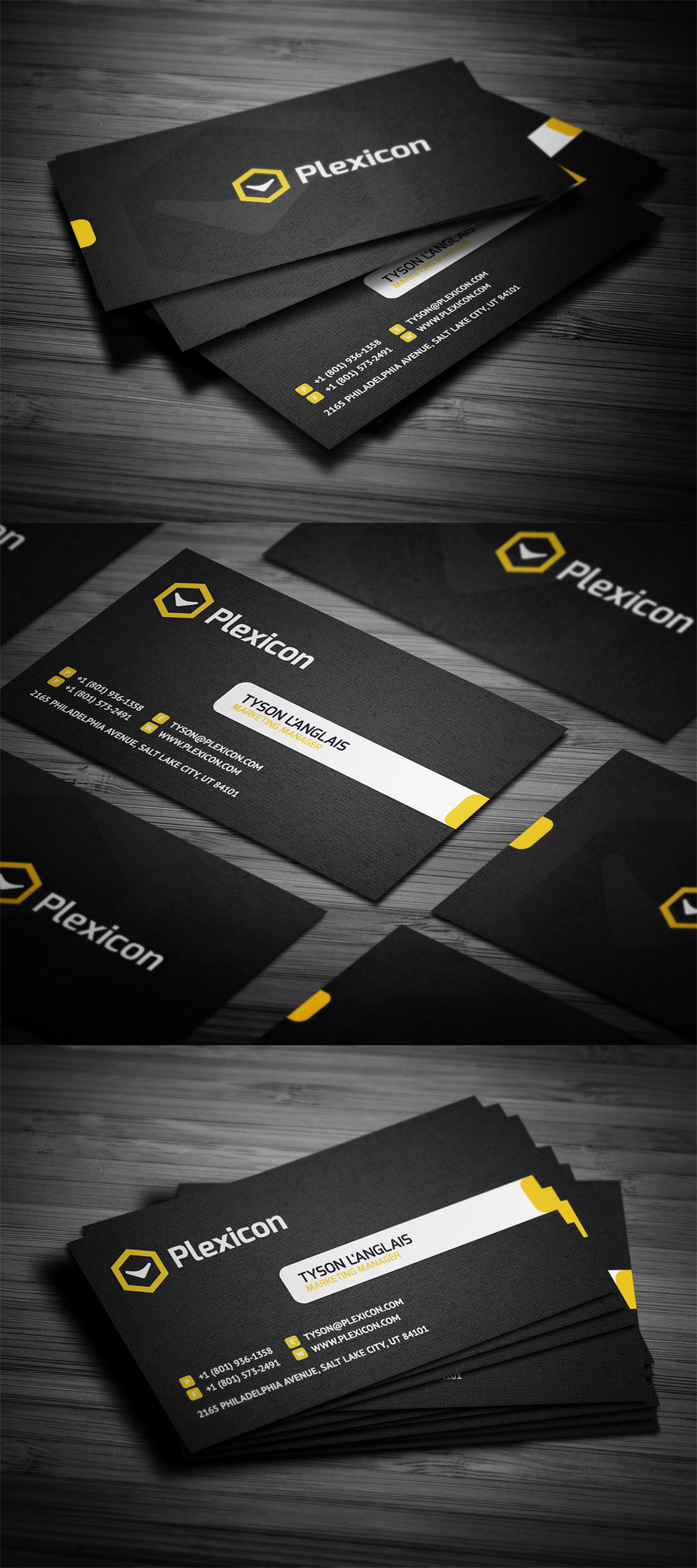 Stylish Business Card | Business Card Design | Pinterest | Business ...