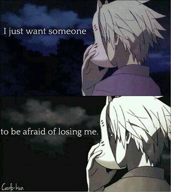 I really want someone...