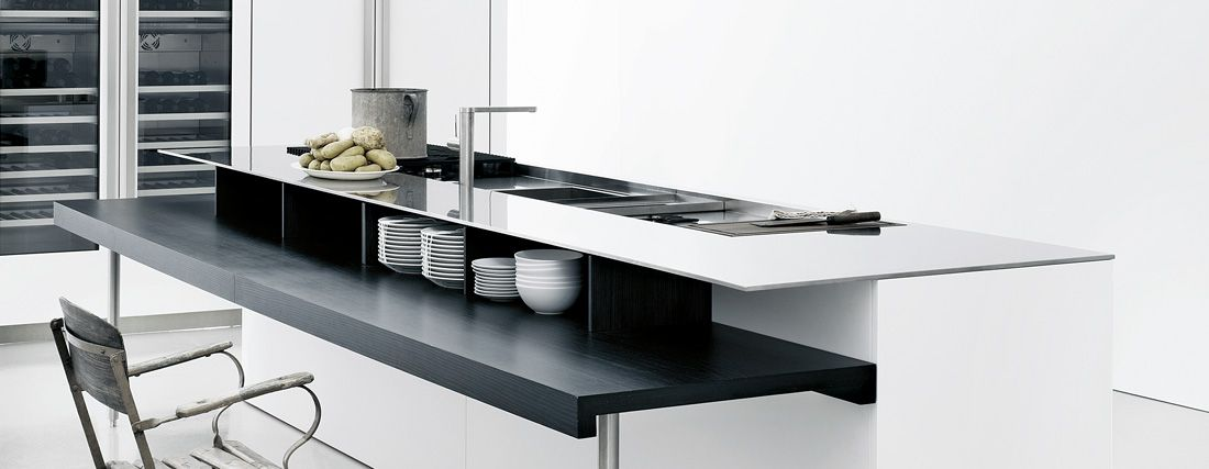Piano cucina in acciaio inox Bautek | Kitchens | Cucina in ...