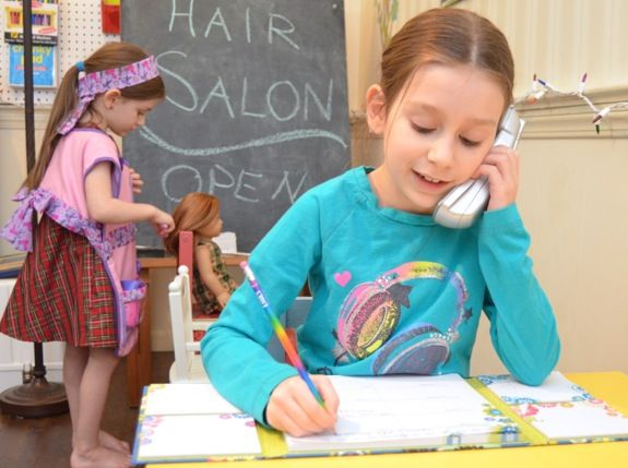 Pretend Hair Salon For Dolls Inner Child Fun Dramatic Play Preschool Dramatic Play Themes Dramatic Play Centers