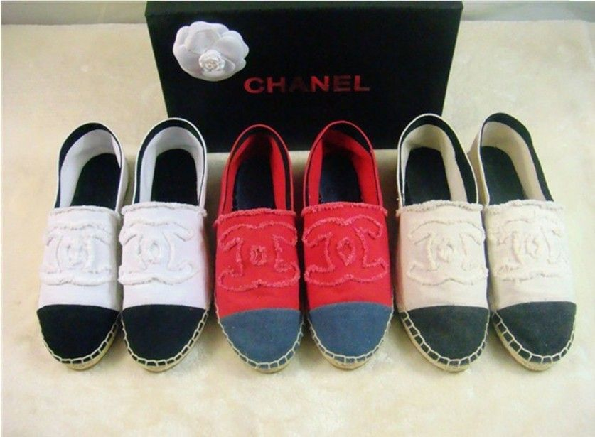 Aliexpress.com :Velvet Flat shoes espadrilles chanel