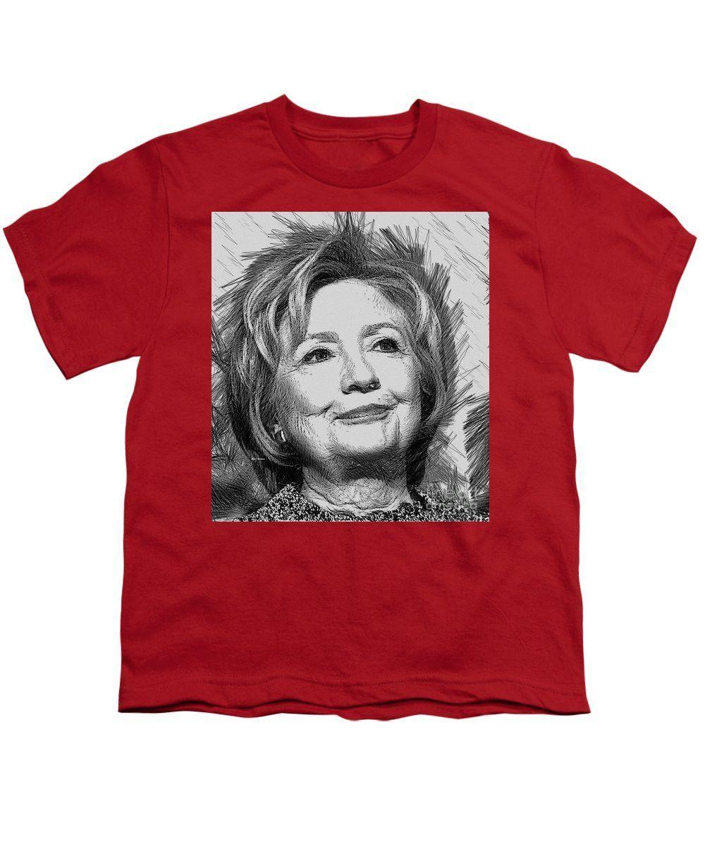 Youth T-Shirt - Hillary Clinton