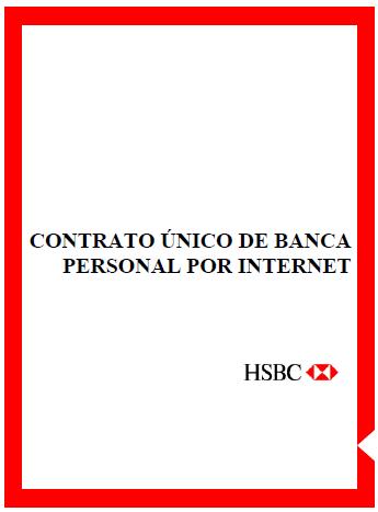 Contrato De Banca Personal Por Internet Hsbc México Proyectos