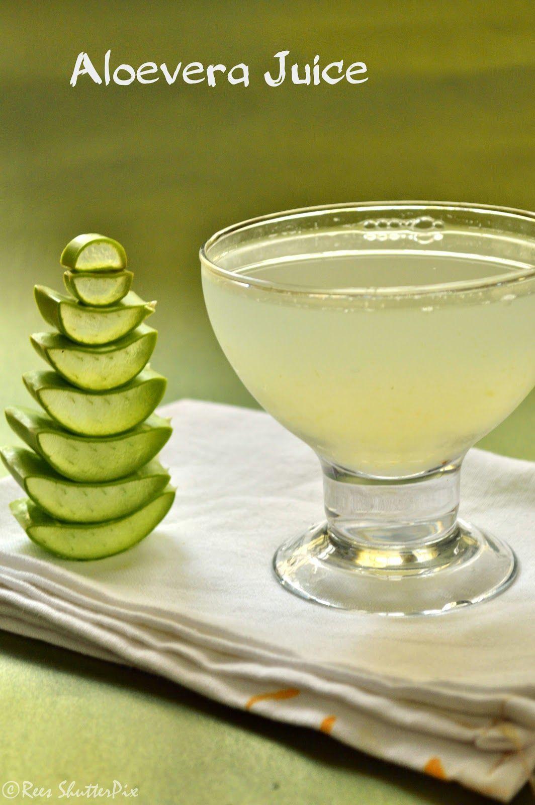 Aloe vera juice aloe vera drink summer drink recipes