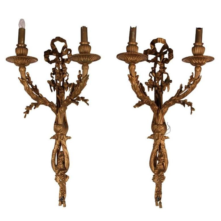 Pair Of 1stdibs Wall Lights Sconces