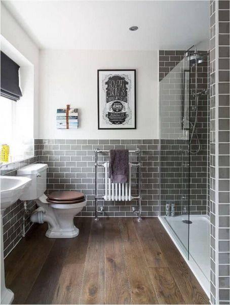 Subway tiles - Bathroom Trend #bathroom #interior #trends ...