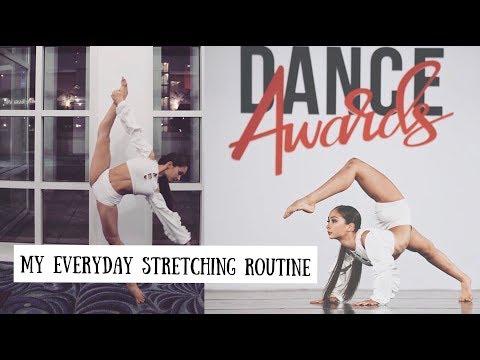 my everyday stretching routine 2018  misskballerina