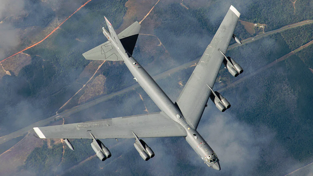 The Air Force S B 52h Bomber Force Has Said Goodbye To Its Nuclear Bombs The Drive Nuclear Bomb Air Force Stealth Bomber