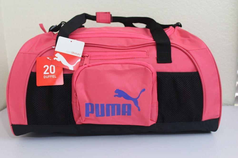 Puma sport lifestyle women girl gym bag 20