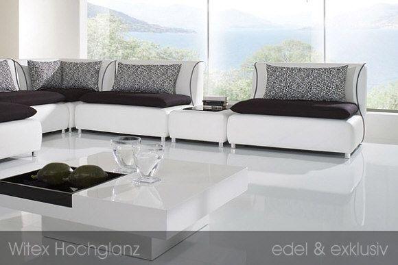 witex hochglanz laminatboden laminatboden edel und elegant wohnzimmer mit flair in 2019. Black Bedroom Furniture Sets. Home Design Ideas