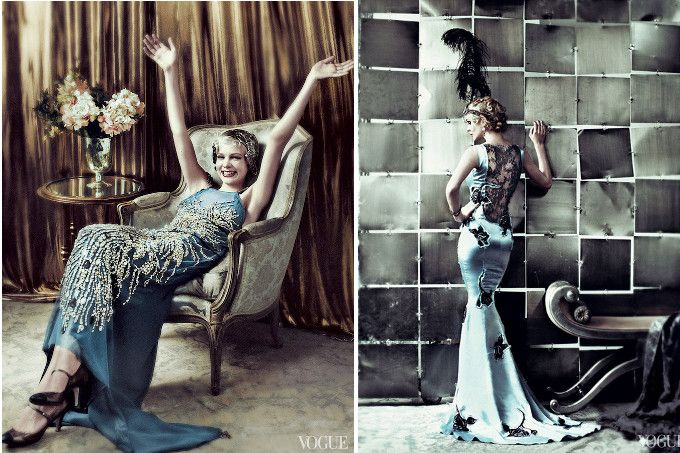 Great gatsby dress code women fashion