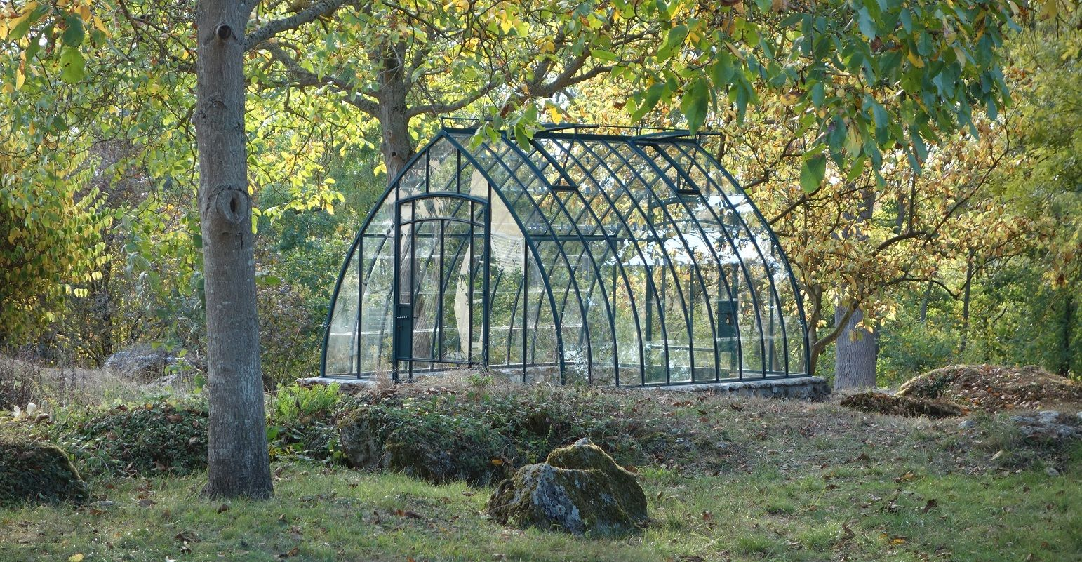 Serre de jardin à l\'ancienne modèle Adèle | Serre jardin ...