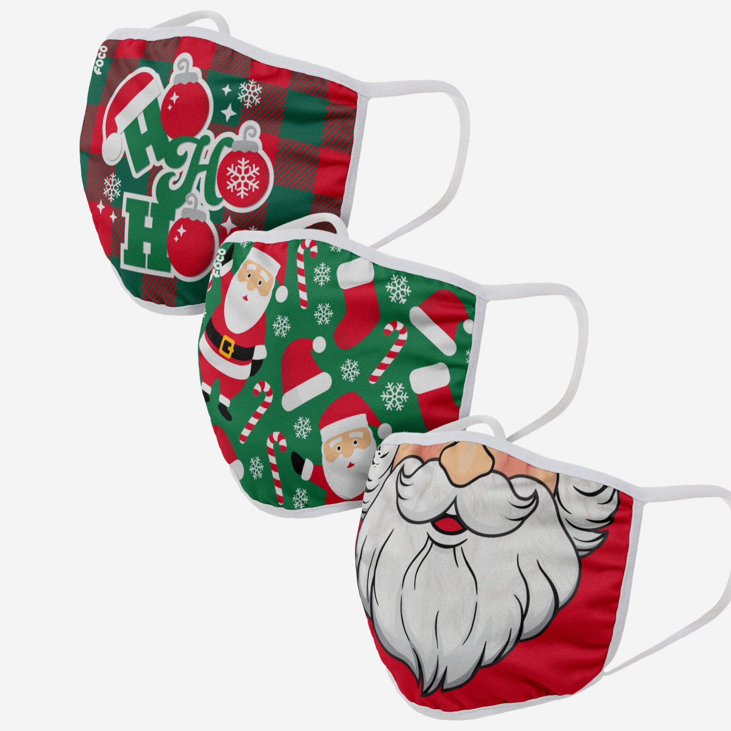 Christmas 3 Pack Face Cover