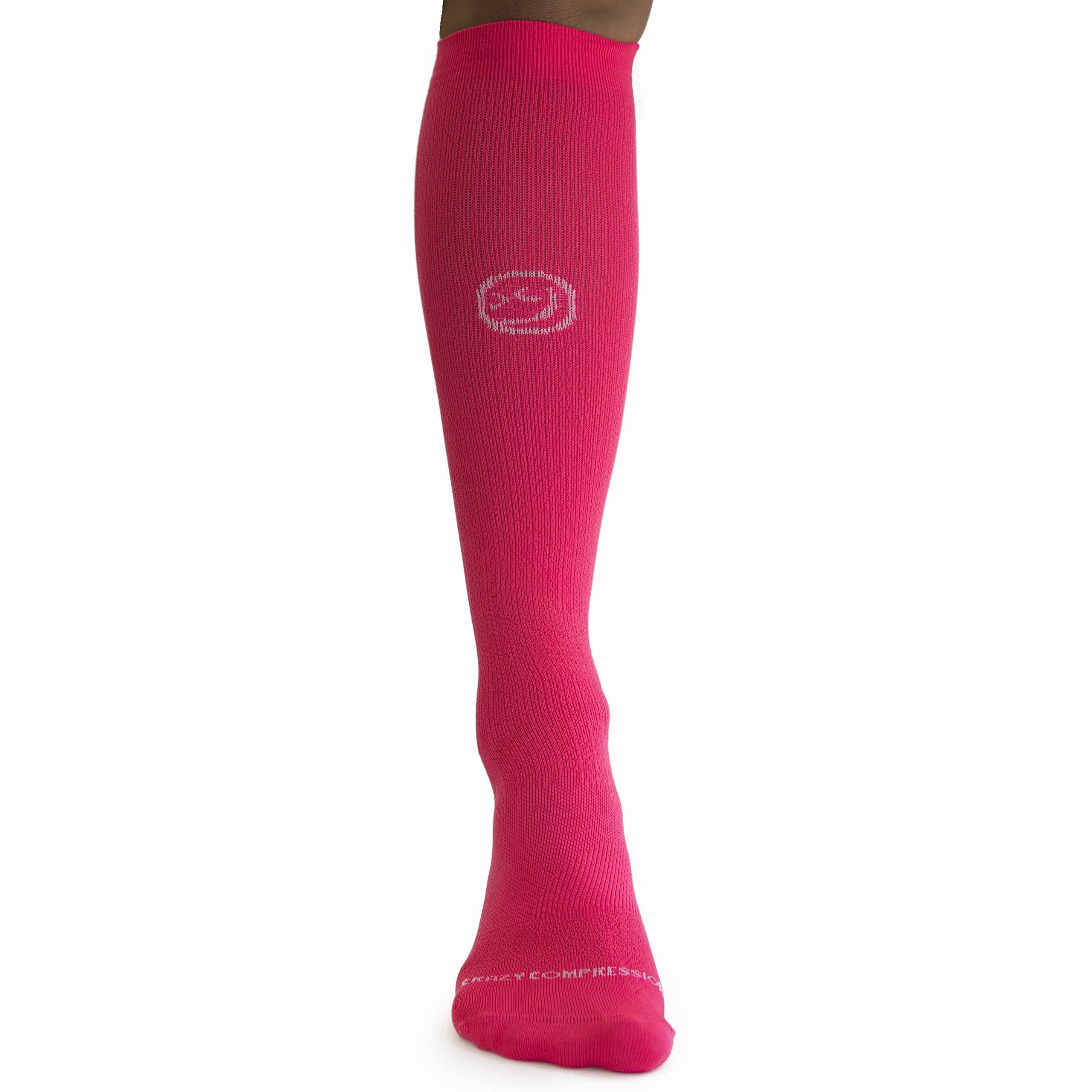 da253bef35 Crazy Compression OTC Solid Compression Socks XS Coral -- Check out this  great product. (This is an affiliate link) #CompressionSocksGallery