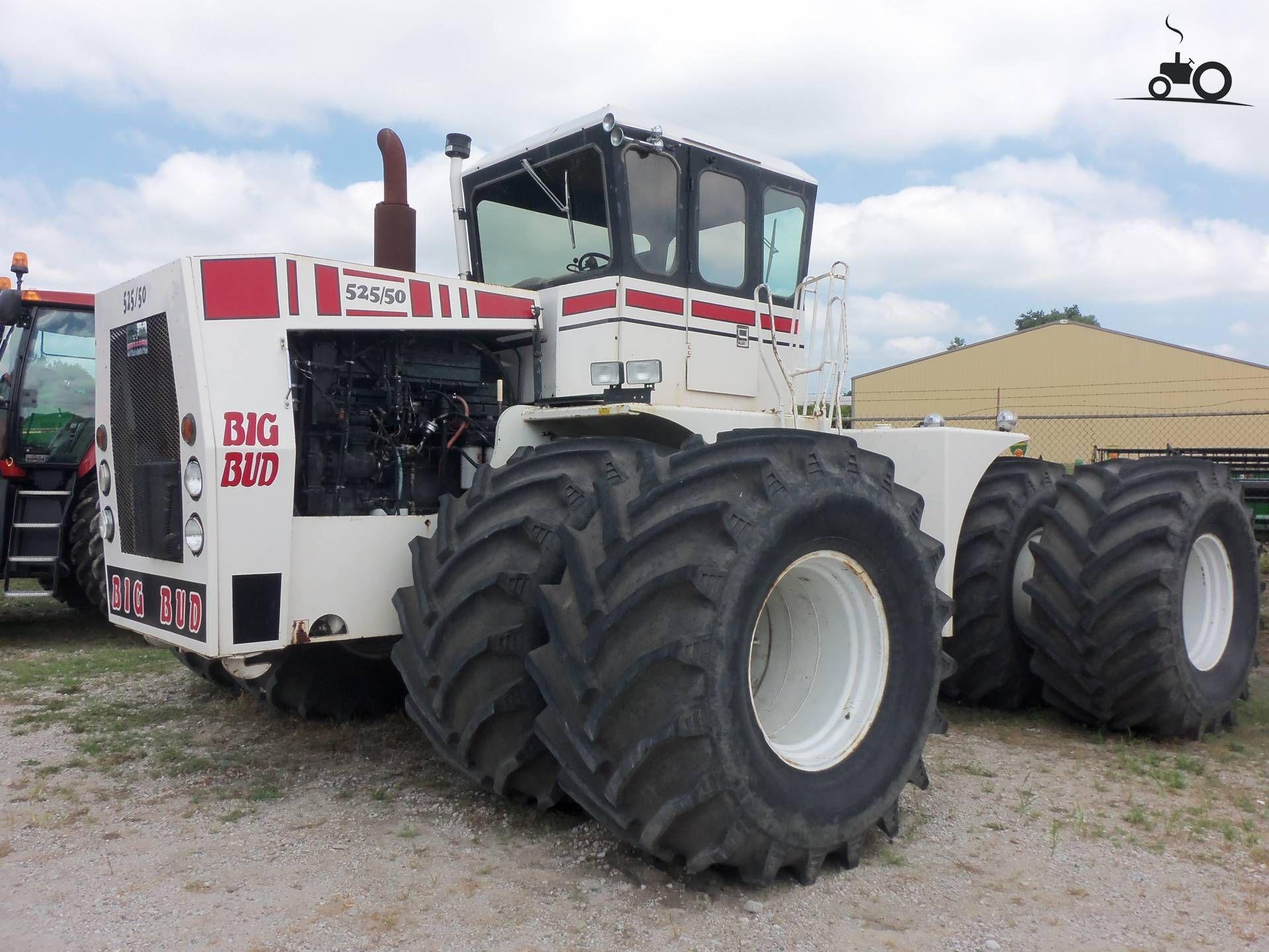 Big Bud 525 50 Bezig Met Poseren This Comes With Over 10 000 Hours On It And Is A 1981 Model Geplaatst Door Marion5900 Op 23 07 2 Tractor Voertuigen Landbouw