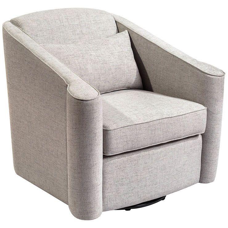 Jonathan Swivel Bucket Chair Light, Modern Swivel Bucket Chairs