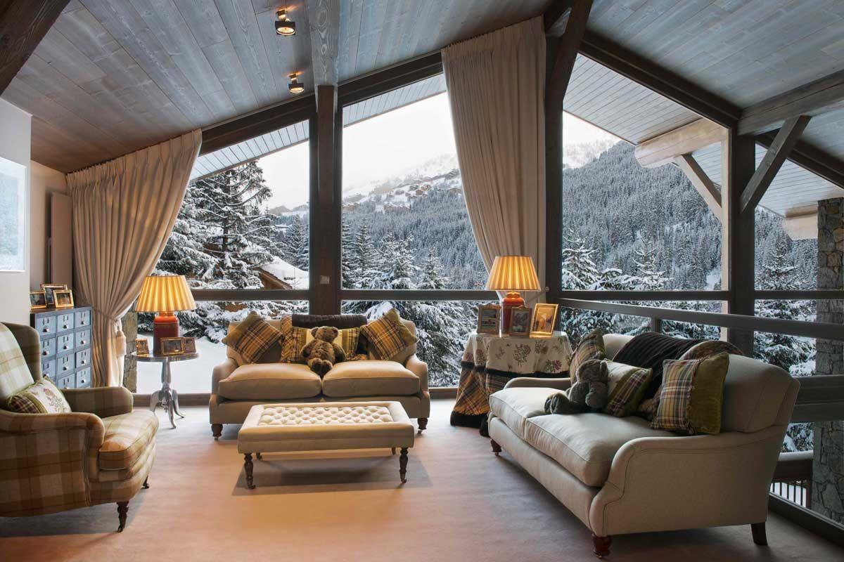 ski chalet interior - Google-søk   Hytte fjell   Pinterest ...