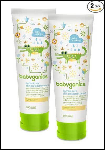 Babyganics Eczema Care Skin Protectant Cream 8 Oz Tube Eczematreatmentcenter Eczema Cream Eczema Lotion Skin Protection